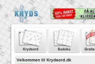 Krydsord.dk screenshot